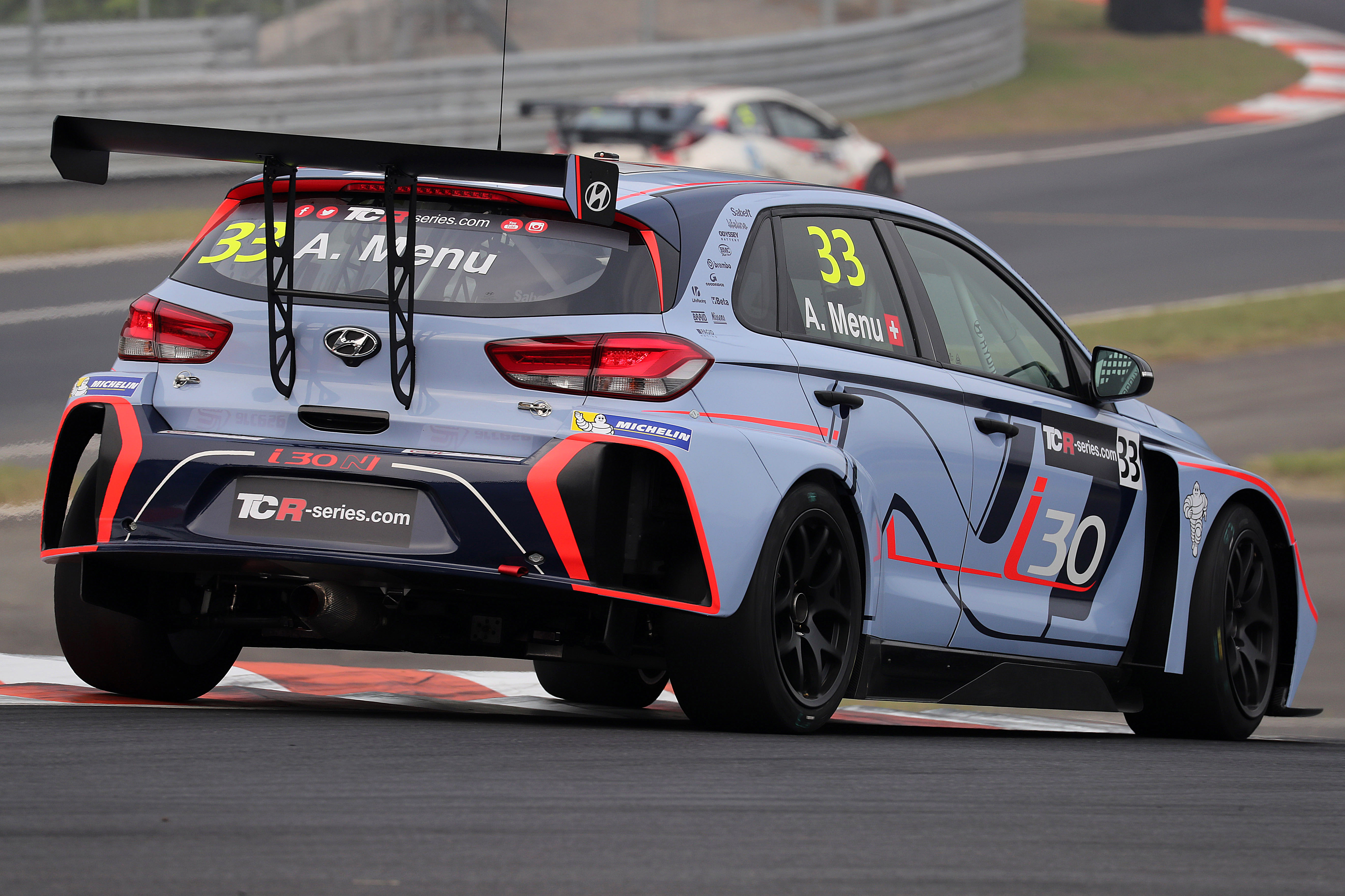 hyundai i30 n tcr shines in international series debut. Black Bedroom Furniture Sets. Home Design Ideas